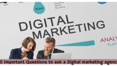 10 Important Questions to ask a Digital marketing agency