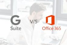 G Suite vs Office 365