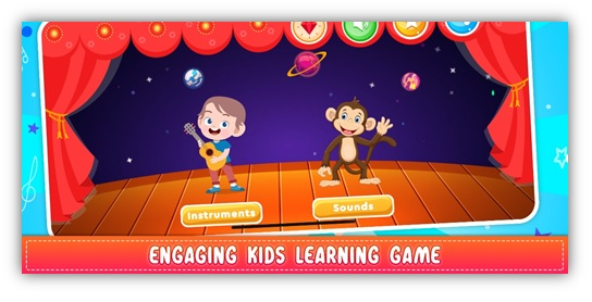Engaging Kids Learning Game
